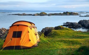 Camping on the Moray Coast
