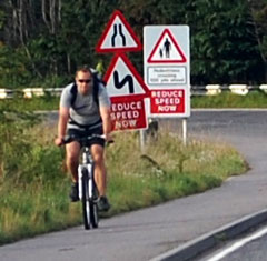Cycling around Forres