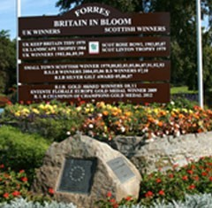 Forres in Bloom