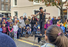 Street Theatre – Culture Day Forres