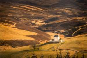 Corgarff Castle is on the Superdrive