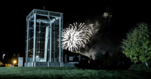 Fireworks in Forres