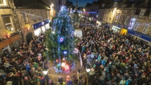 Forres Christmas lights switch-on
