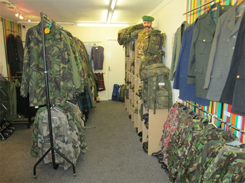 Highland Army Surplus Store - Forres | Forres Local