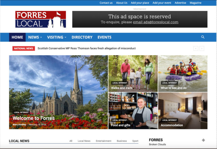 Forres Local gets a new website with name change