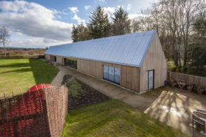 The Playful Garden Visitor Centre at Brodie Castle