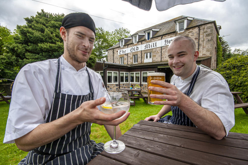 Food and drink at the Festivale