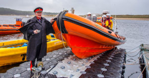 MIRO boat launched