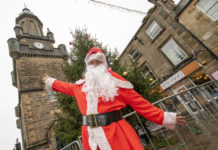 Santa in Forres