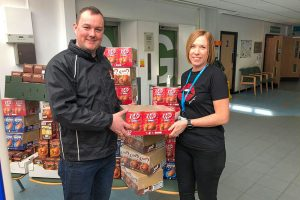 Easter eggs donated to good causes