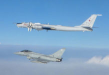QRA Intercept Russian planes