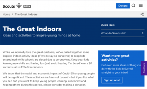 Scouts – The Great Indoors