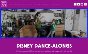 This Girl Can – Disney Dance-Alongs