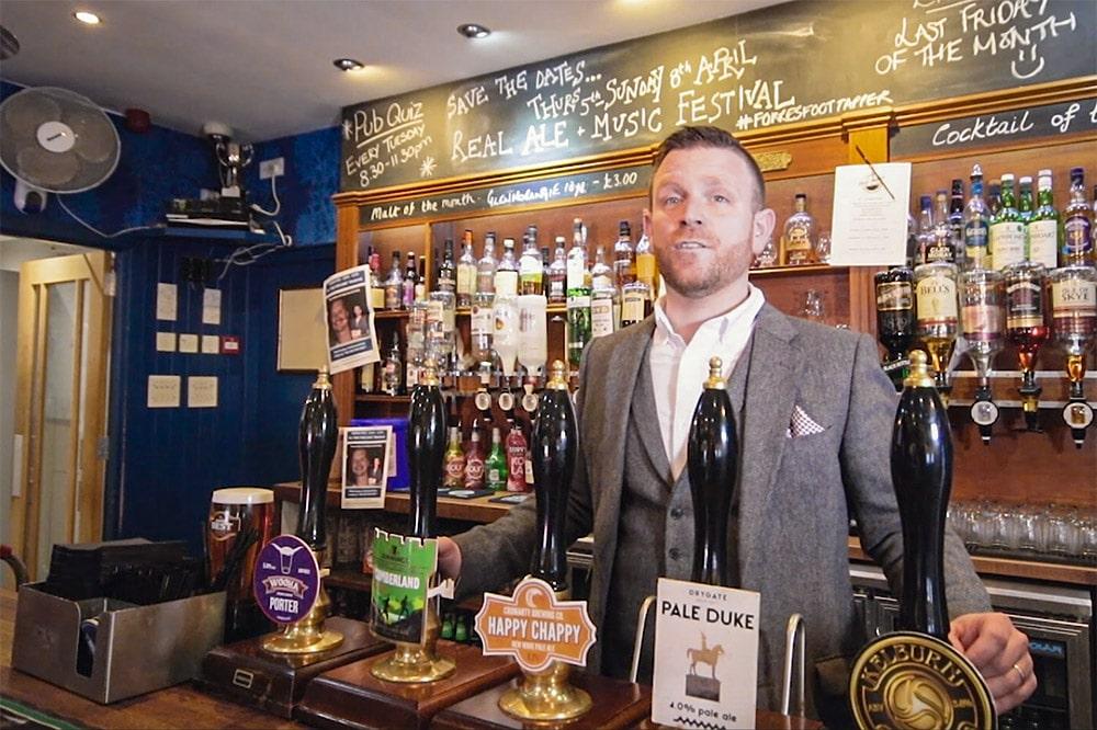 Gordon Brailsford, Mosset Tavern