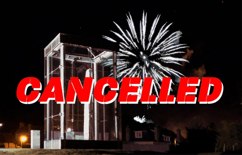 Forres fireworks cancelled