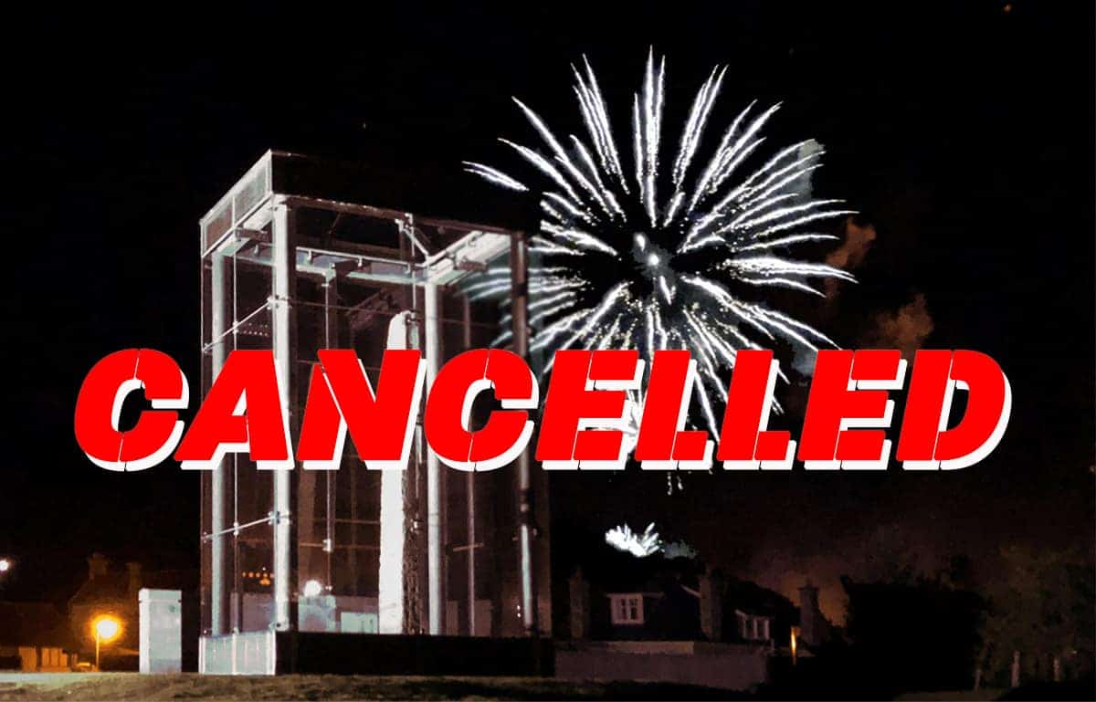 Forres fireworks cancelled
