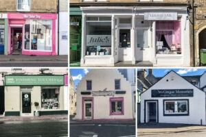 Six shops have opening in Forres town centre over the last six months. Pic: Marc Hindley