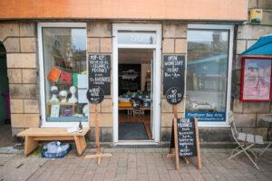 Pop-up shop in Forres