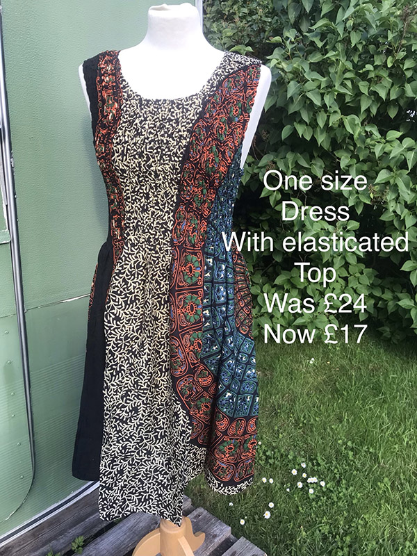 One size dress was £24 now only £17