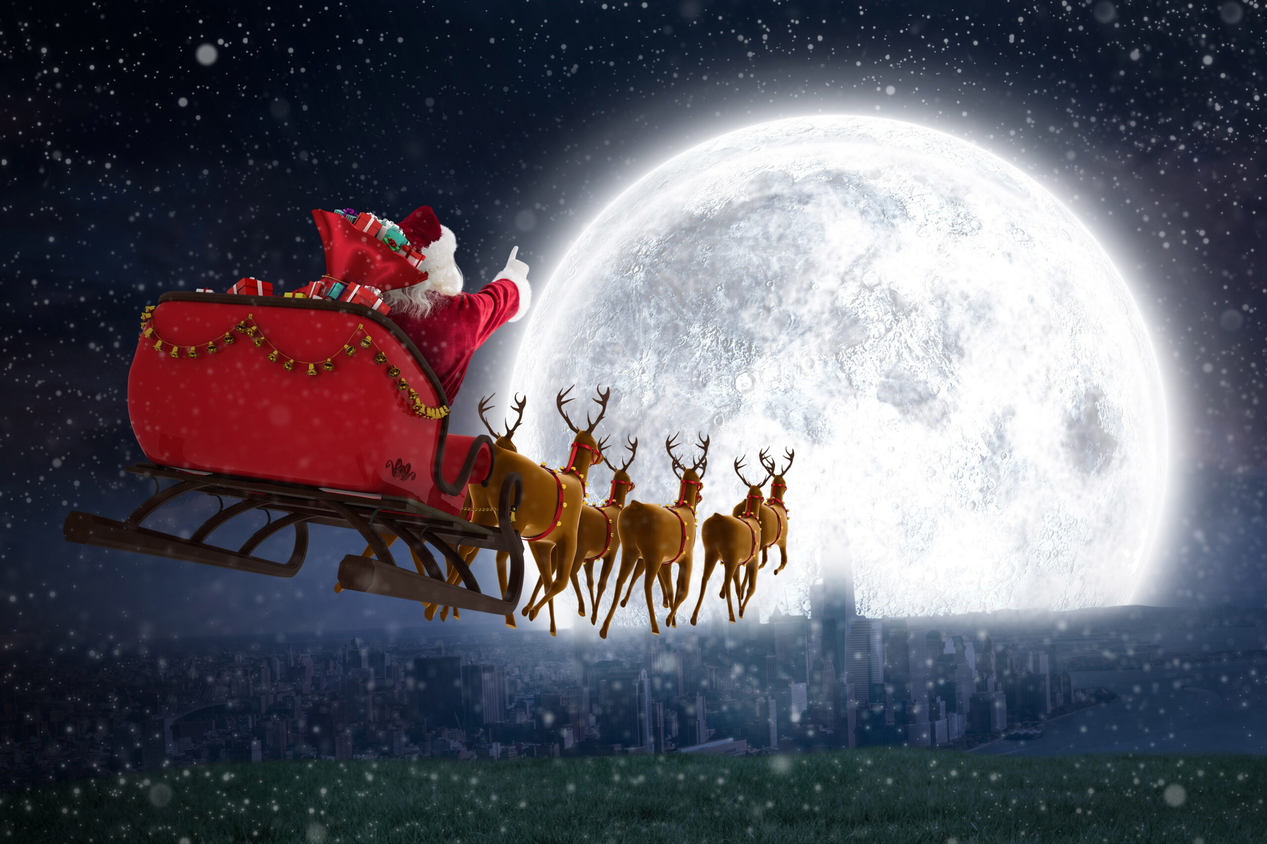 Ring a bell for Santa at 6pm on Christmas Eve