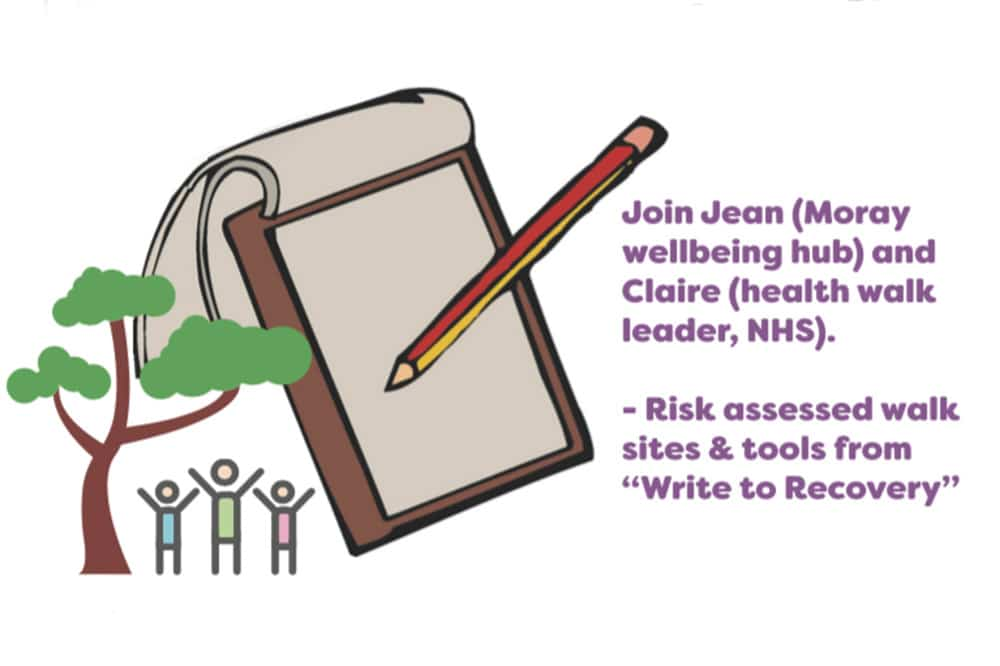 Wellbeing Writing Walks in Moray
