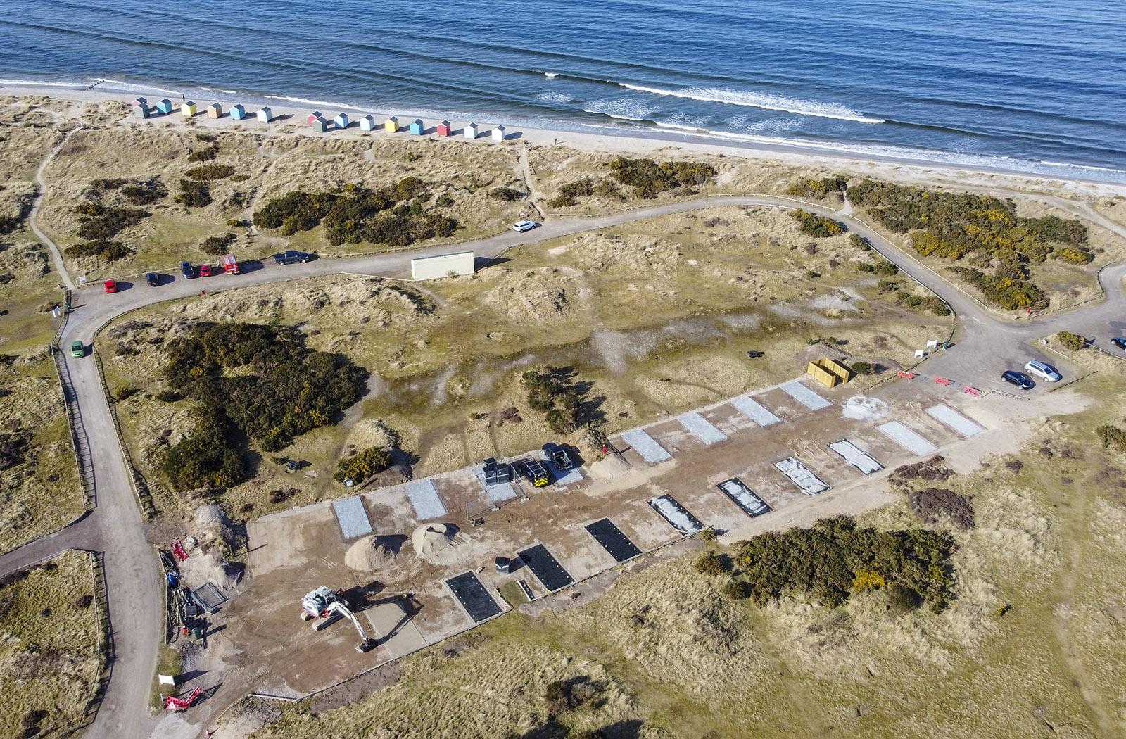 Findhorn Beach Motorhome Park