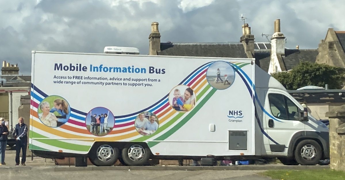 Mobile Covid testing in Forres